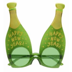 Gadget Capodanno, Occhiali Bottiglia di Champagne