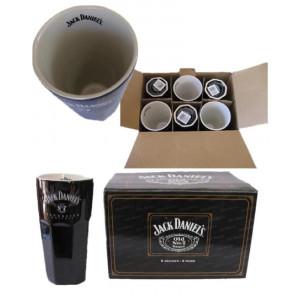 Kit 6 tazzoni in Ceramica Jack Daniel's bicchieri in Ceramica PS 04101