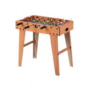 Mini calcetto con gambe in legno 69x37x60 giocattoli giochi Dal Negro *00087 pelusciamo store