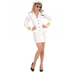 Costume Carnevale Donna Divisa Capitano Di Marina PS 26144 Pelusciamo Store Marchirolo