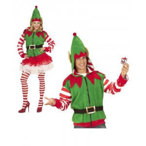 Felpa Con Cappuccio Elfo Costume Carnevale O Natale PS 25872 Pelusciamo Store Marchirolo
