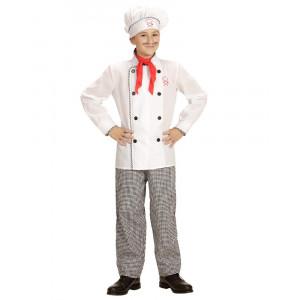 Costume Carnevale Bambino Chef Travestimento da Cuoco PS 26191 Pelusciamo store Marchirolo