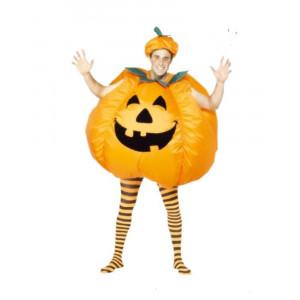 Costume Halloween Zucca Autogonfiante