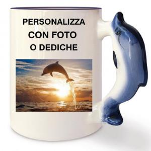 Tazza In Ceramica Delfino Personalizzabile Foto Dediche PS 09348 Tazze Personalizzata Pelusciamo Store Marchirolo