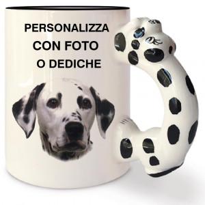 Tazza In Ceramica Dalmata Personalizzabile Foto Dediche PS 09349 Tazze Personalizzata Pelusciamo Store Marchirolo