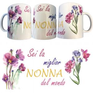 Tazza Sei La Miglior Nonna Del Mondo Tazze In Ceramica PS 09370-11 Pelusciamo Store Marchirolo