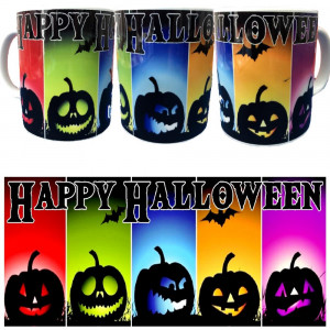 Tazza Halloween Tazze In Ceramica Festa Horror PS 09370-15