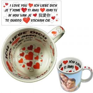 Tazza Innamorati Personalizzabile Foto Dediche PS 09389 Tazze Personalizzata Pelusciamo Store Marchirolo