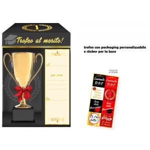 Trofeo al Merito  Personalizzabile Festa Laurea | pelusciamo store
