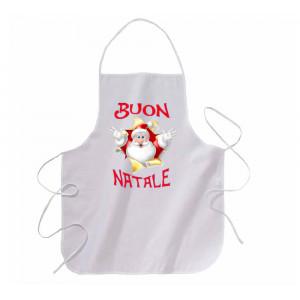 Grembiule Natalizio Buon Natale Con Stampa 21x29 cm  PS 10577-1 pelusciamo store Marchirolo