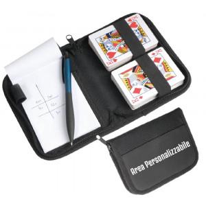 Set Regalo Personalizzabile  due Mazzi Da 52 Carte Da Gioco PS 10662  Pelusciamo Store Marchirolo