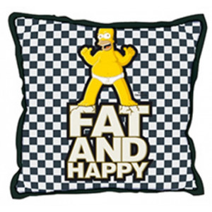 The Simpson peluche Cuscino Homer Fat And Happy *11372