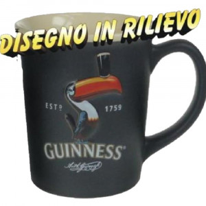 Tazza Guinness Beer Boccale Ceramica tucano nera *11420 Gadget idee regalo