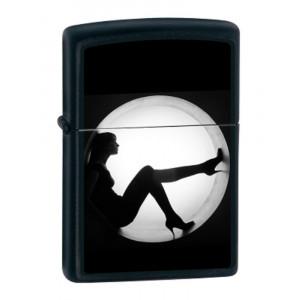Accendino Zippo Silhouette antivento, made in the USA *03062 PELUSCIAMO