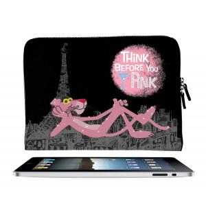 Cover Porta ipad Tablet Similpelle Pantera Rosa *14764 pelusciamo
