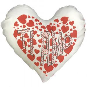 Cuscino Cuore Ti Amo San Valentino 42x38 cm PS 12902-1 Pelusciamo Store Marchirolo