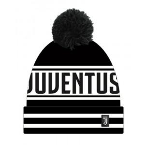 Cappello Adulto Invernale Ponpon Jaquard Fc Juventus  | Pelusciamo.com