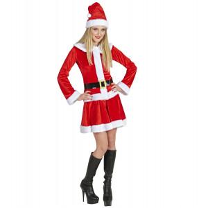 Abito Natalizio Babbo Natale Donna PS 25814 Miss Santa Pelusciamo Store Marchirolo