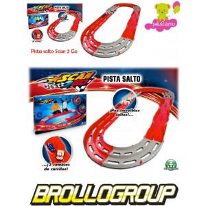 Gioco ista macchinine Scan go 2 mega jump *15252 giocattoli per bambini pelusciamo.com
