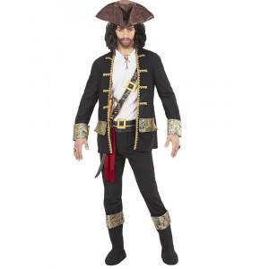 Costume Carnevale Uomo Capitano dei Pirati PS 26264 Pelusciamo Store Marchirolo