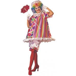 Costume Carnevale Donna Pagliaccio clown travestimento Betty Bride