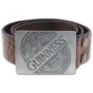 Abbigliamento Guinness Beer cintura pelle con fibbia Logo PS 18873 gadget idea regalo