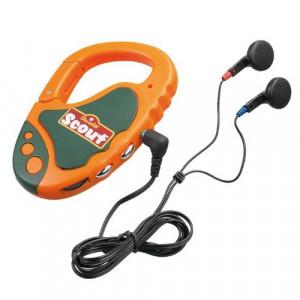 Linea Scout radio con cuffie a moschettone