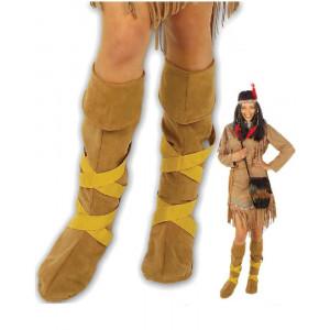 Copristivali Indiana Accessori Costume Carnevale Donna indiani Far West PS 19856 pelusciamo store marchirolo