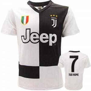 BrolloGroup Completo Calcio Juventus Bambino Kit Home Ufficiale ...