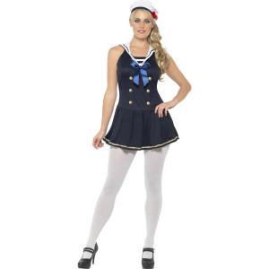 Costume Carnevale  Donna  Marinaia, Marinaio