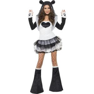 Costume Carnevale Donna Animale Panda Tutu' Smiffys 22797 *17526
