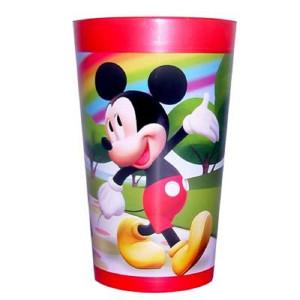 Bicchiere in melamina mickey mouse topolino e pluto *03564 pelusciamo