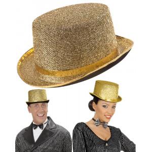 Cappello Cilindro Oro , Accessorio Costume Carnevale PS 09300 Pelusciamo Store Marchirolo