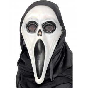 Maschera Halloween Carnevale Screamer Urlo accessorio costume Smiffys