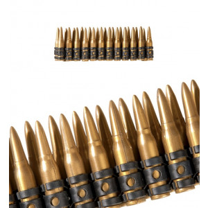 Accessori costume Carnevale militare Cartucciera 60 munizioni Proiettili *19968 pelusciamo.com