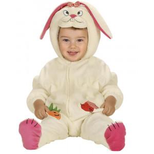 Costume Carnevale Bimbo, Coniglietto in Peluche PS 22783 Primi Mesi pelusciamo Store marchirolo