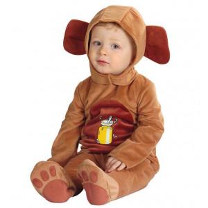 Costume Carnevale Bimbo orsetto travestimento bambino orsacchiotto *19965 pelusciamo store