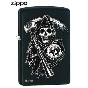 Accendino Zippo Sons Of Anarchy skull teschio *00369 pelusciamo store