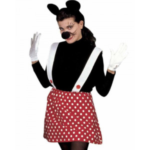 Set Costume Carnevale Adulto da Topino , Topina  PS 20023