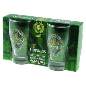 2 mini pinte Guinness Beer birra Logo stampato *03432 gadget idea regalo pelusciamo