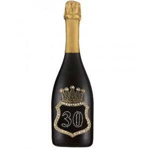Bottiglia Di Prosecco Extra Dry 0.75 ML. Personalizzata 30 Anni PS 27275