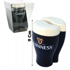 Accessori birreria Set Sale e Pepe mini Pinta Guinness Beer PS 10983