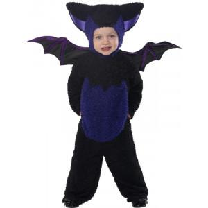 Costume Halloween Carnevale Bambino Bimbo Pipistrello Animale smiffys *09082