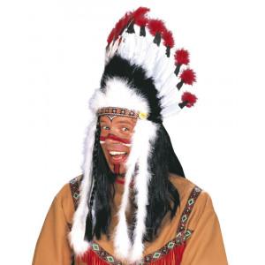 Accessorio Costume Carnevale Copricapo Indiano Toro Scatenato PS 19769