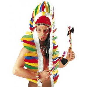 Accessorio Costume Carnevale Copricapo Piume Indiano Maxi PS 05252 Pelusciamo Store Marchirolo