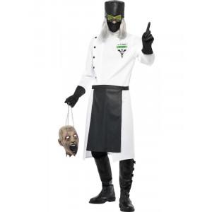 Costume Halloween Carnevale Adulto Dottore infermiere Horror Smiffy's