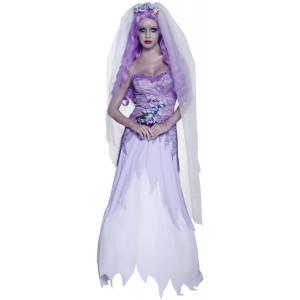 Costume Carnevale Donna Sposa Fantasma Halloween