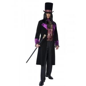 Costume Carnevale Adulto Conte Gotico Fine 800  costumi