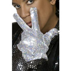 Costume Carnevale Guanto Michael Jackson billie jaen travestimento