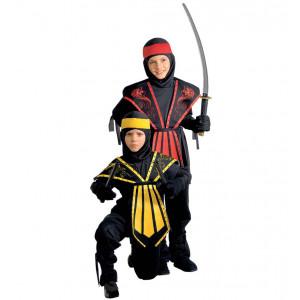 Costume Carnevale Bimbo,Ragazzo,Divisa Kopmbat Ninja    Pelusciamo.com